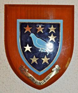 Crusaders Cricket Australia club plaque shield crest