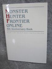 MONSTER HUNTER FRONTIER ONLINE 5th Anniv Art Illustration Book XBox EB69*