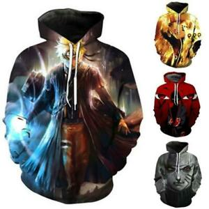 Womens Mens Hoodie Sweatshirt 3D Graphic Cartoon Funny Pullover Jumper Coat Tops