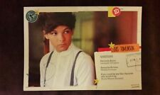 1D Louis Tomlinson promotional Postcard One Direction from second album