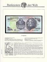 Uruguay 50 Nuevos Pesos P 61c 1981 UNC Series D Low Shipping Combine FREE P 61 c