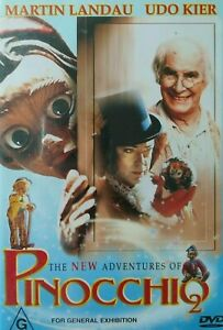 Pinocchio 2 DVD Martin Landau 1999 Udo Kier Rare Movie - AUSTRALIAN REGION 4 PAL