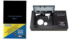 New Sealed Motorized VHS-C to VHS Cassette Adapter for JVC Panasonic RCA SVHS