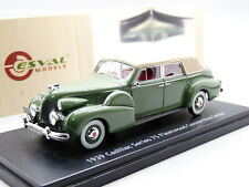 Esval EMUS43007B 1/43 1939 Cadillac Fleetwood 75 Convertible Resin Model Car