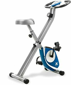 XTERRA Fitness FB150 Folding Exercise Bike, Silver, New in a Box