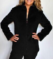Jones New York Womens Angora Wool Blend Jacket Coat Black Size 6, NWT $340