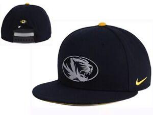 Brand New NWT New Missouri Tigers Nike True Reflective Snapback Cap Hat GD