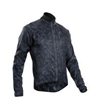 Sugoi RS cycling Jacket Black patterns zip jacket Womens UK 14 (L) *REF130