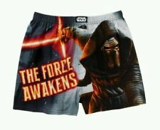 "Star Wars THE FORCE AWAKENS Boxer Shorts Men's Extra Large XL 40""-42"" NeW Boxers"