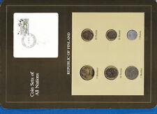 Coin Sets of All Nations Finland 1982 - 1984 UNC 5 Markkaa 1984 Birds