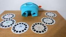 View Master Viewer Reels Lot Finding Nemo 3D set plus Smokey Bear +Cinderella