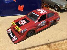 "Polistil 7.2"" ALFA ROMEO ALFRETTA GTV TURBO Diecast Vintage SN05 Car RED 1:25"