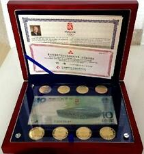 China Olympic 2008 $1 8pcs Coin Set in Presentation Box & Certificate (UNC)