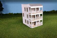 N Scale Laser Cut  Meadows Apartment Building Kit