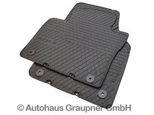 VW Gummifussmatten Golf Plus 5M vorn Gummimatten Gummi Fußmatten Matten