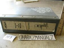 CROWN Forklift SP42 Series Parts & Service Manual 4 inches Thick!!!