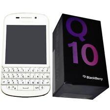 Bnib BlackBerry Q10 Sqn100-3 White 16Gb Azerty Keypad Factory Unlocked 4G Gsm