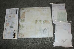 NEW Creative Memories Once Upon a Wedding Page Set, Stickers, & 2 Accent Set NIP