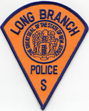 LONG BRANCH NEW JERSEY NJ POLICE PATCH