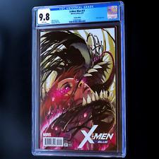 X-MEN BLUE #21 💥 CGC 9.8 WP 💥 STEPHANIE HANS VARIANT - RARE! VENOMIZED COVER