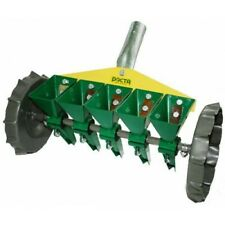 4pack Gardening Tools LLDWORK Plastic Sowing Seeder Planter Sifting Soil Stone Pan Garden Sieve Plant Seed Set