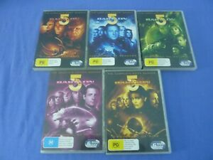 Babylon 5 DVD Complete Series 1 2 3 4 5 R4 Free Tracked
