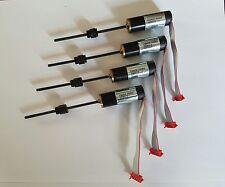 4x MAXON Getriebemotor + Encoder + Spindel und Spindelmutter