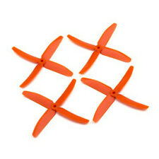Dalprop Q5040 Four Bladed Propellers Orange (10 pairs CW/CCW)
