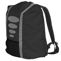 Regenschutz für Schulranzen Rucksack Schutzhülle Reflektor Überzug Regen Schwarz