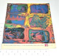 MTV Vintage Print Ad 1990 Music Television Videos Robin Nedboy Al Harp Artwork