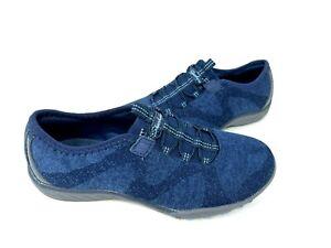 Skechers Women's Breathe Easy Slip On Walking Shoes Navy #23855 Size:7.5 145F