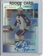 1999-00 SPX Tim Connolly Auto Rookie Card RC #174 0293/1999 Mint