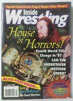 Inside Wrestling Magazine Back Issue July 1997 House Of Horrors Steve McMichael