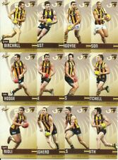 2014 AFL SELECT CHAMPIONS HAWTHORN HAWKS COMMON TEAM SET 12 CARDS PREMIERSHIP