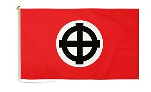 DuraFlag Celtic Cross Red 5ft x 3ft Flag with Rope And Toggle