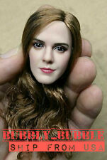 1/6 Emma Watson Head Sculpt 4.0 For PHICEN Hot Toys Female Figure SHIP FROM USA
