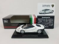 1:64 Kyosho Lamborghini Minicar Collection Centenario LP770-4 2016-2017 White A
