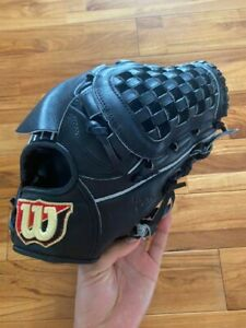 Wilson Baseball Glove for pitcher black without box used from Japan