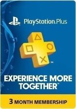 Sony PlayStation Plus Membership - 3 Months