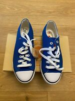 Lee Cooper Size 3 Trainers BNIB blue and white fabric BARGAIN! New Perfect Gift