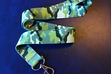 CAMO CAMOFLAUGE Lanyard Neck Strap Keychain ID Badge Holder