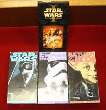 VHS - Lot of 4 Star Wars VHS Films (THX Digitally Mastered)