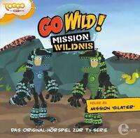 GO WILD!-MISSION WILDNIS -(21)ORIGINAL HSP Z.TV-SERIE-MISSION GILATIER   CD NEU