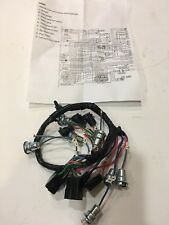 1964 65 66 Chevy All Models Pickup Dash Wiring W/out Gauges With Warning Light