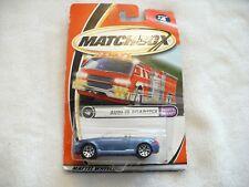 55A- MATCHBOX AUDI II ROADSTER #4 OF 75 MIP