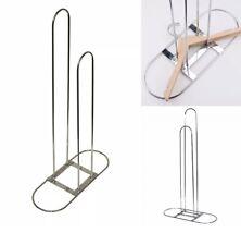 Clothes Hanger Stacker Storage Organizer Holder Chrome Smart Design Metal Rack
