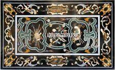 Italian Marble Beautiful Dining Table Handmade Marquetry Inlay Home Decor H3875