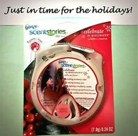 Febreze Scentstories CELEBRATE THE HOLIDAYS Disc FREE SHIP - Multi-Discount -NOS