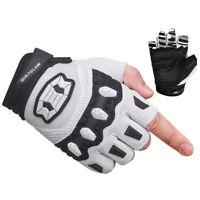 Men/'s Size Large White Plaid Pow Gloves Rake Glove Mountain Bike BMX