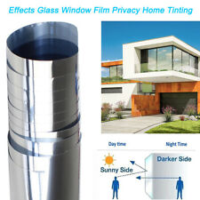 Home Tinting One Way Mirror Window Film Privacy Protect/Anti UV/Solar Reflective